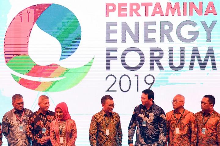 Ahok dan Dewan Direksi Buka Pertamina Energy Forum