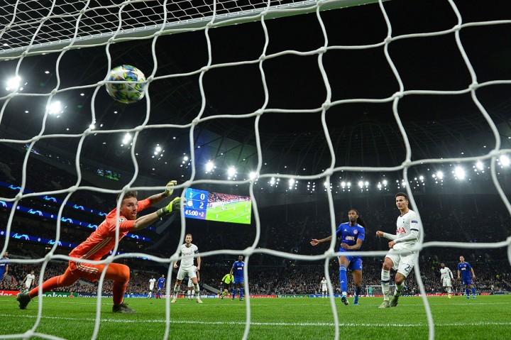 Tekuk Olympiakos 4-2, Tottenham ke Babak 16 Besar