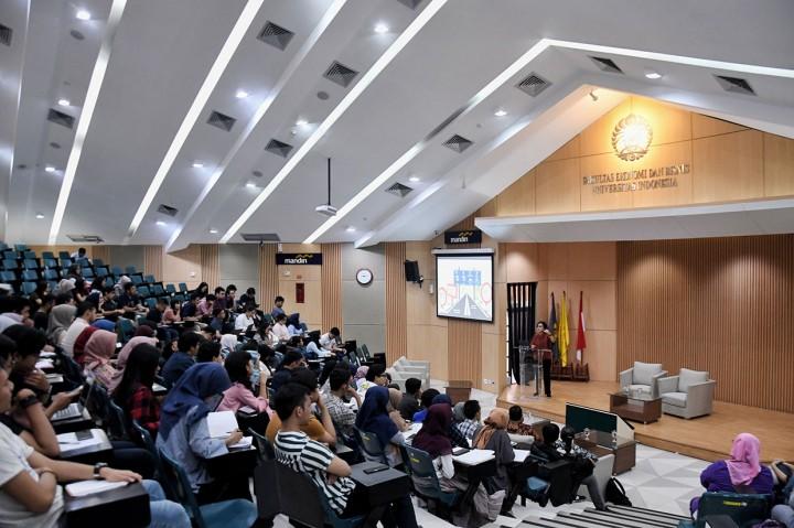 Menkeu Beri Kuliah Umum di Kampus UI Depok