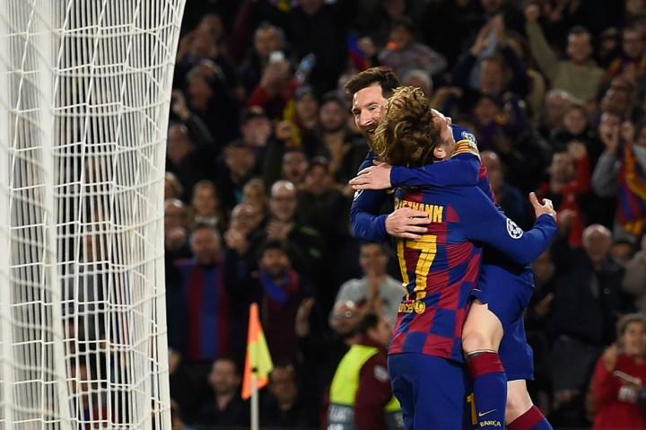 Messi Kreator Kemenangan Barca Atas Dortmund