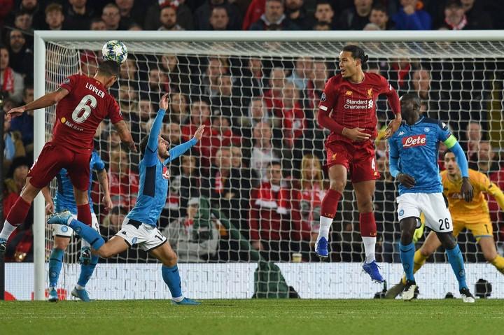 Liverpool Ditahan Imbang Napoli 1-1