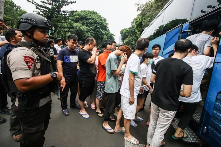 80 WN Tiongkok Pelaku Penipuan akan Dideportasi
