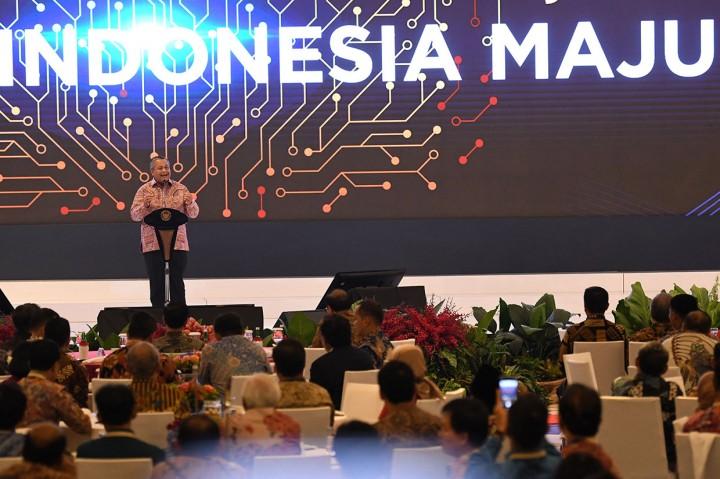 Jokowi Hadiri Pertemuan Tahunan BI 2019