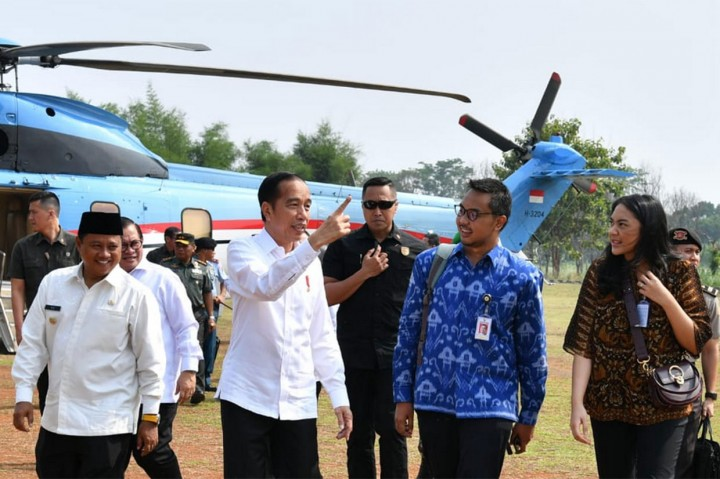Presiden Jokowi Kunjungan Kerja ke Subang