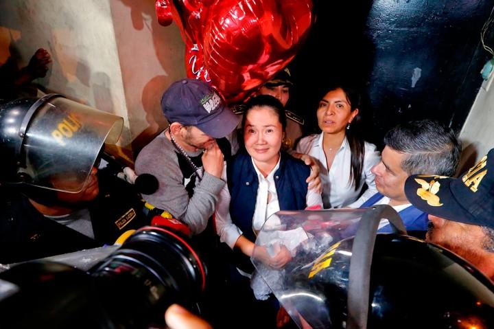 Pemimpin Oposisi Peru Keiko Fujimori Dibebaskan dari Penjara