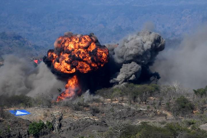 Saat Pasukan Gabungan TNI Hancurkan 'Agresor'