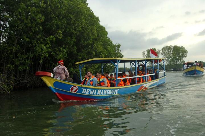 20 Dubes untuk Indonesia Kunjungi Hutan Mangrove di Brebes