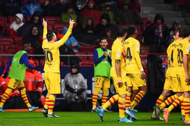 Gol Messi Bawa Barcelona Menang Atas Atletico Madrid