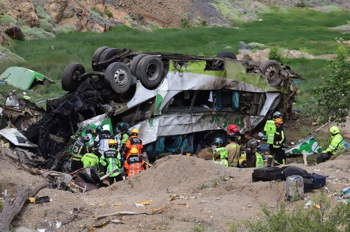 Kecelakaan Bus di Chile Tewaskan 20 Orang