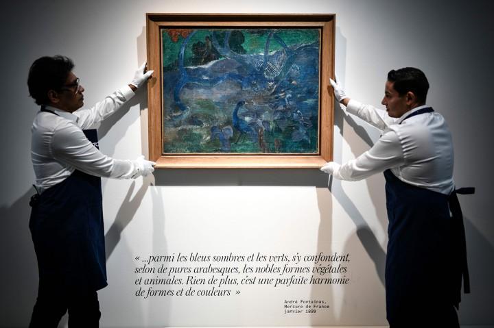 Lukisan Burung dan Bunga Ini Terjual Rp148 M