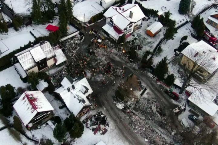 Ledakan Gas di Polandia Tewaskan Delapan Orang
