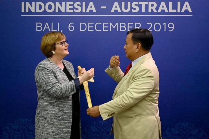 RI-Australia Bahas Pengiriman Pasukan Penjaga Perdamaian PBB