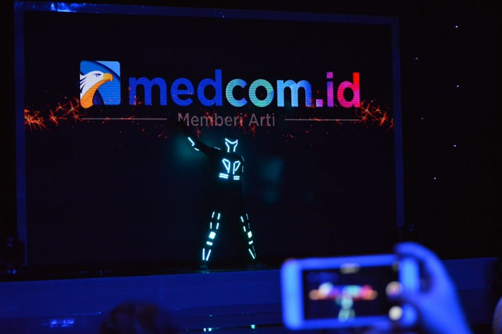 Kemeriahan Puncak Acara HUT ke-2 Medcom.id