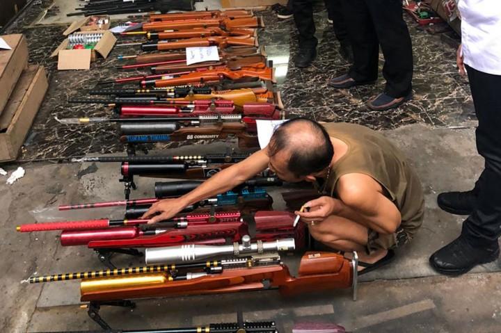 Gudang Perakitan Senjata Ilegal di Lumajang Digerebek