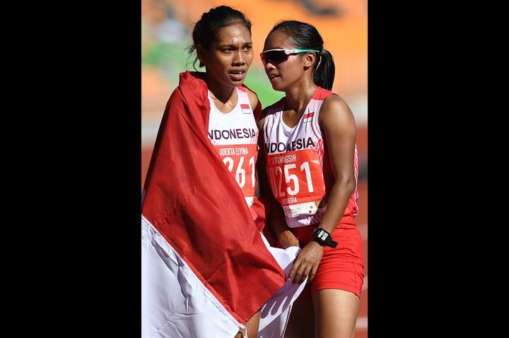 Odekta Elvina Raih Perunggu Lari 10.000 Meter Putri