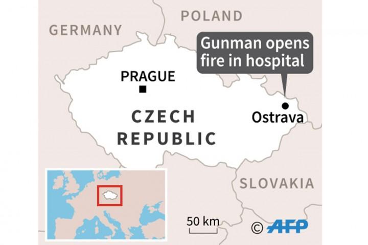 Penembakan di RS Ceko, Enam Tewas