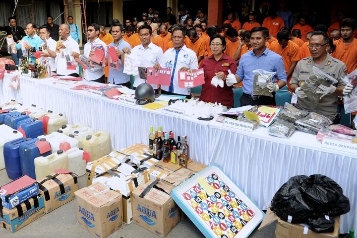 Polda Bali Ungkap 178 Kasus dalam Operasi Pekat Agung II
