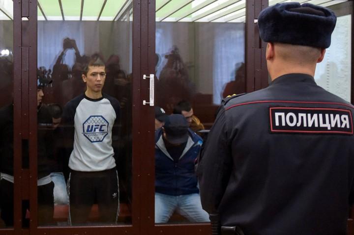 11 Pelaku Teror Bom Stasiun Metro Rusia Jalani Sidang Vonis