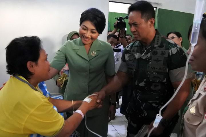 KSAD Tinjau RS TNI AD di Kupang