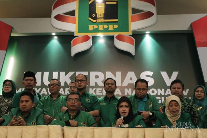 Mukernas V PPP Sepakati Penyelenggaraan Muktamar Setelah Pilkada