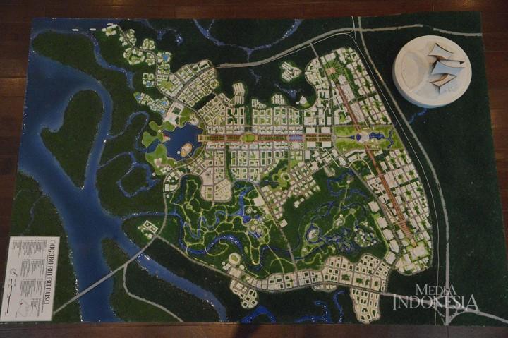 Ini Penampakan Desain Ibu Kota Baru