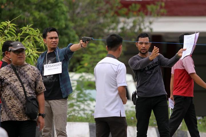 Penembakan Mahasiswa Universitas Haluoleo Direkonstruksi