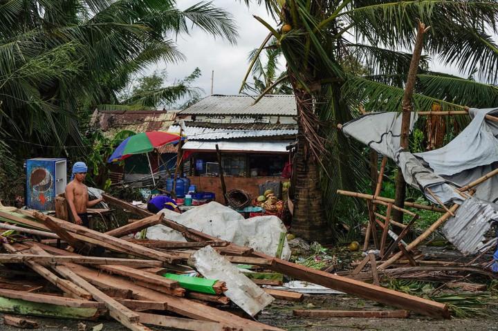 Topan Phanfone Terjang Filipina