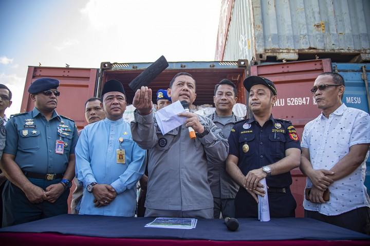 Penyelundupan Arang Bakau ke Singapura Digagalkan