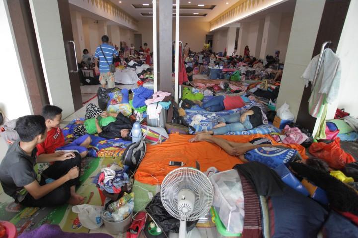 Pengungsi Banjir Jakarta Capai 62 Ribu Jiwa
