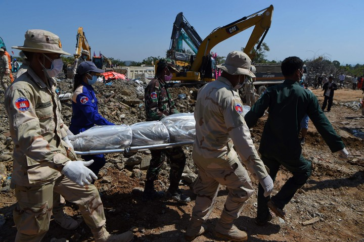 Korban Tewas Akibat Bangunan Roboh di Kamboja Jadi 36 Jiwa