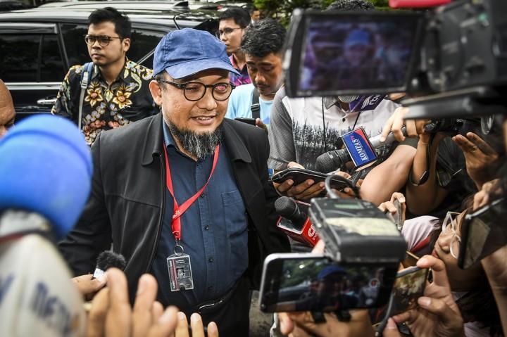 Novel Baswedan Jalani Pemeriksaan di Polda Metro Jaya