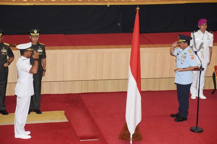 Peresmian Pusat Informasi Maritim TNI