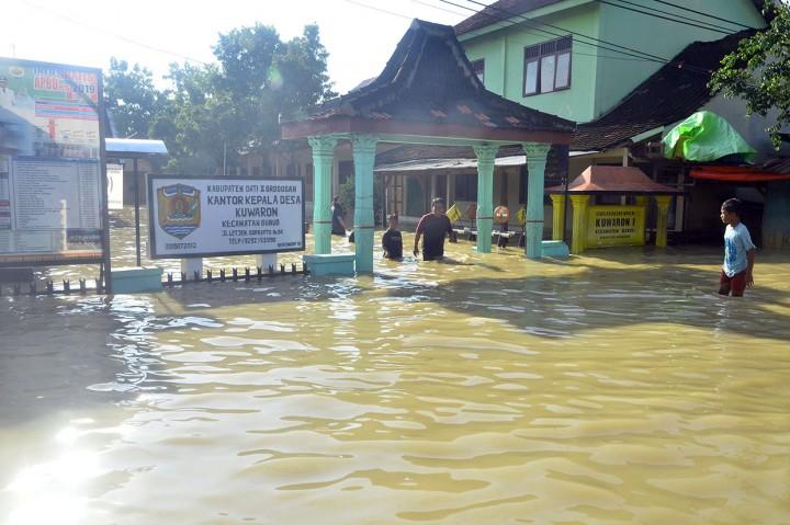 Banjir Rendam Lima Kecamatan di Grobogan
