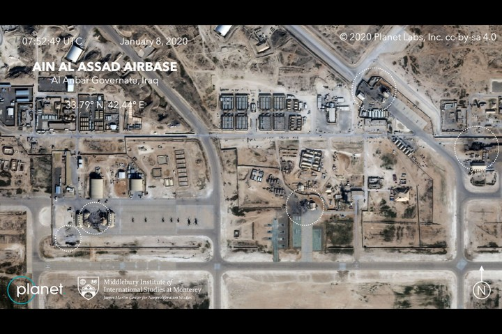 Begini Potret Kerusakan Pangkalan Udara AS usai Dirudal Iran