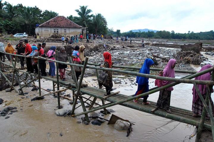 Begini Kerusakan Akibat Banjir Bandang di Jasinga Bogor