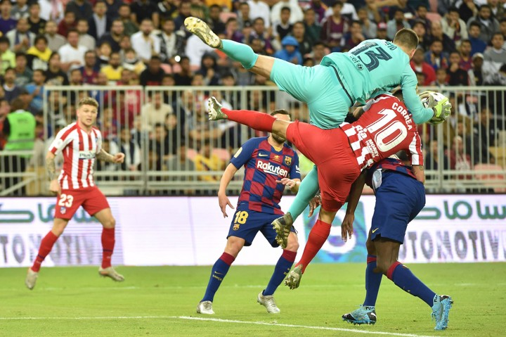Dramatis, Atletico Depak Barcelona dari Piala Super Spanyol