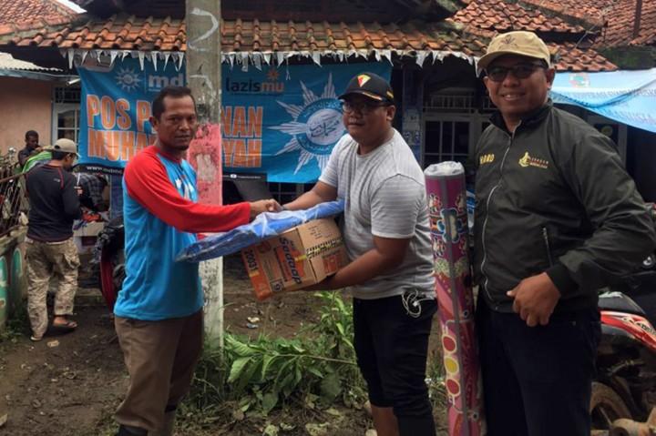 PP Pemuda Muhammadiyah Salurkan Bantuan untuk Korban Banjir