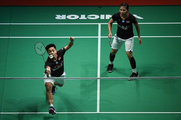 Greysia/Apriyani Terhenti di Semifinal Malaysia Open
