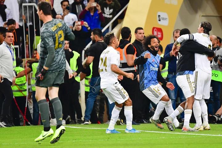 Tekuk Atletico, Real Madrid Juara Piala Super Spanyol