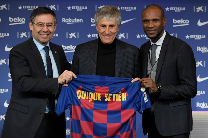 Setien Diperkenalkan sebagai Manajer Baru Barcelona