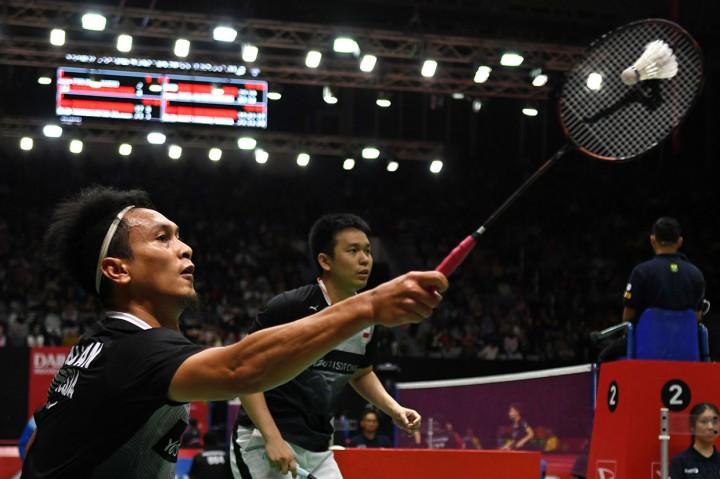 The Minions Susul Fajar/Rian dan Ahsan/Hendra ke Perempat Final