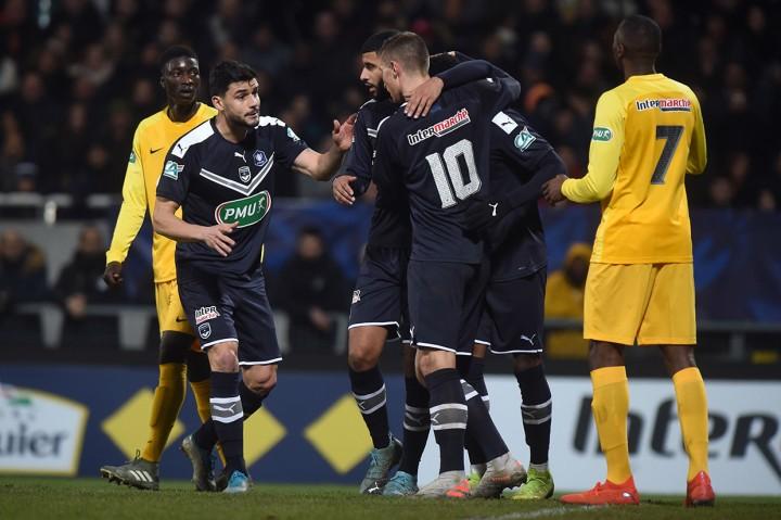 Bordeaux Takluk dari Tim Divisi Tiga Prancis