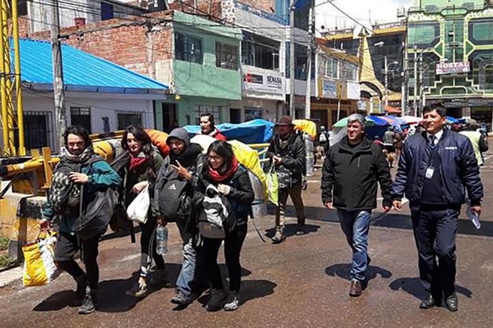 Lima Turis Perusak Situs Machu Picchu Dideportasi