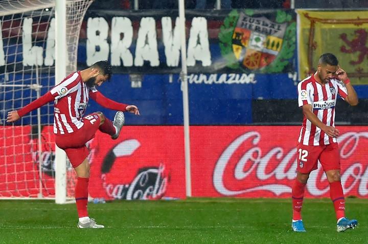 Atletico Madrid Tersungkur di Markas Eibar
