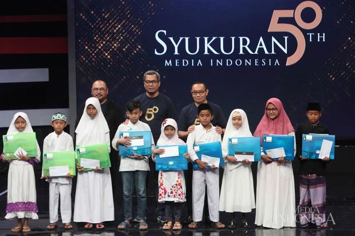 Media Indonesia Gelar Syukuran HUT ke-50