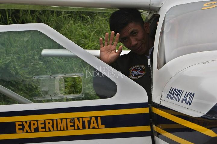 Pembuat Pesawat Asal Pinrang Joyflight di Pondok Cabe