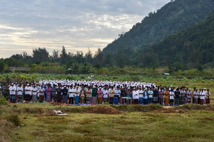 Dilanda Kekeringan, Warga Aceh Besar Laksanakan Salat Istisqa