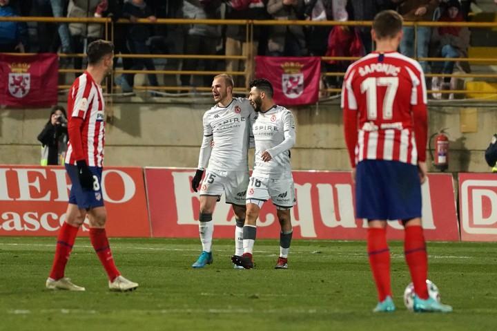Atletico Disingkirkan Tim Divisi Tiga