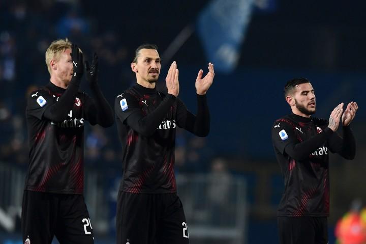 Rebic Bawa Milan Tundukkan Brescia