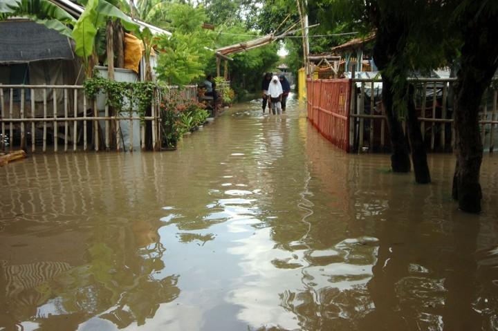 Banjir Rendam Ratusan Rumah Warga Tegal